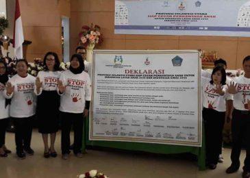 Deklarasi Gerakan Stop Perkawinan Anak dari Sulawesi Utara