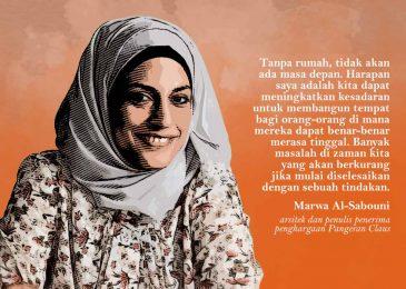 Marwa Al-Sabouni : Tanpa Rumah, tak Ada Masa Depan